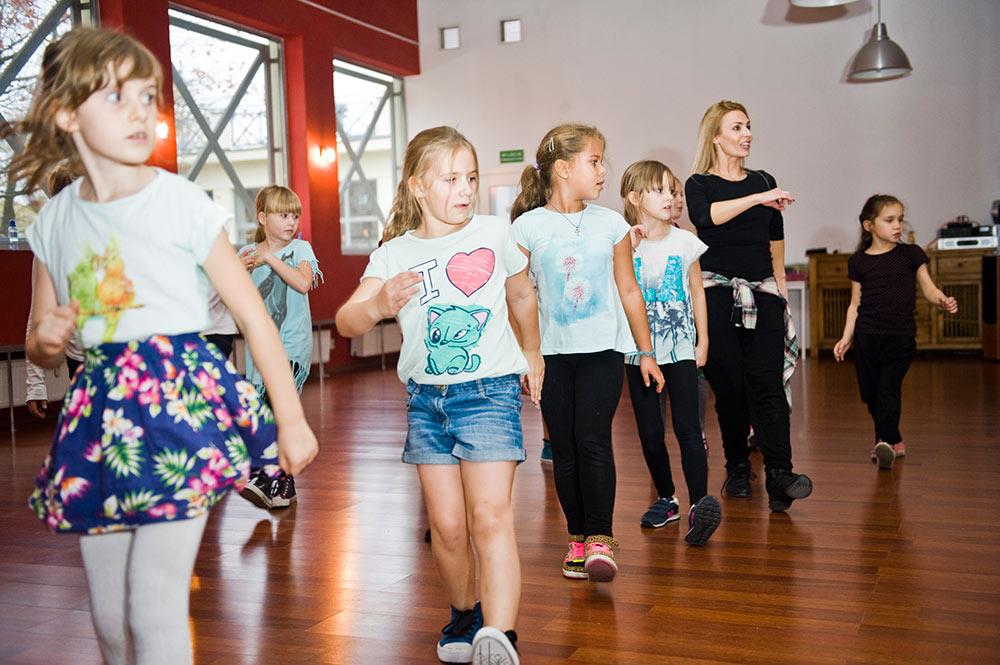 taniec towarzyski dzieci